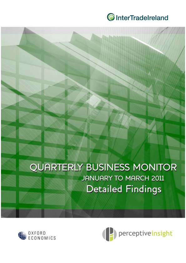 Business Monitor Survey 2011 Q1 Executive Summary