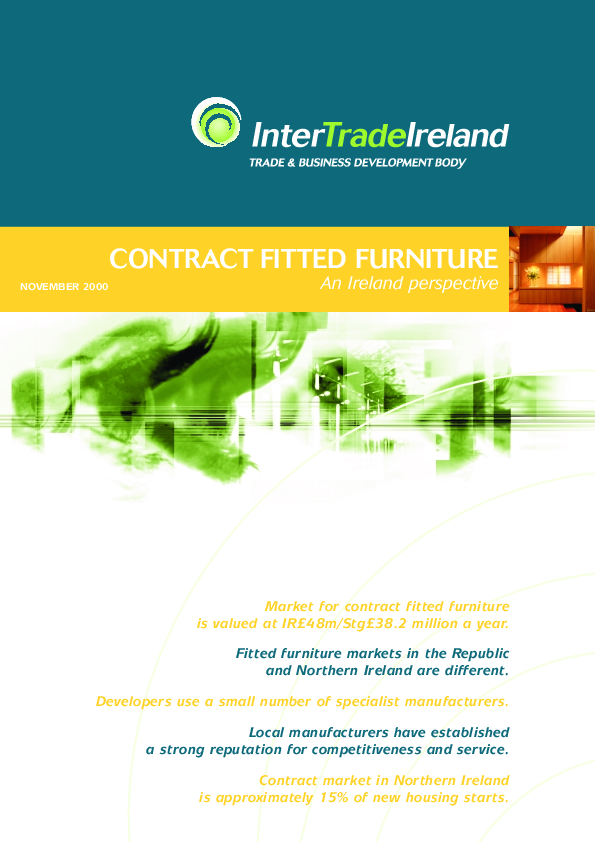 Contract Fitted Furniture An Ireland Perspective 2000