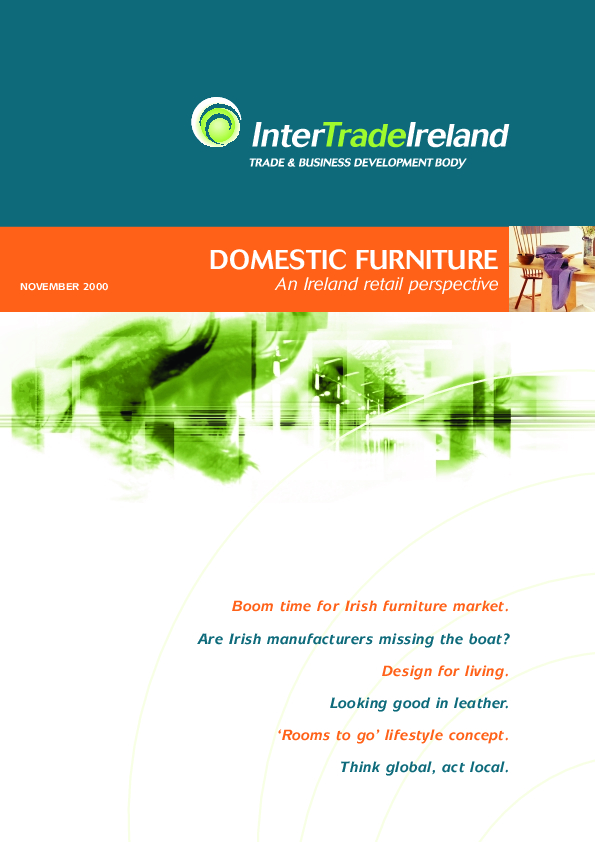 Domestic Furniture An Ireland Retail Perspective