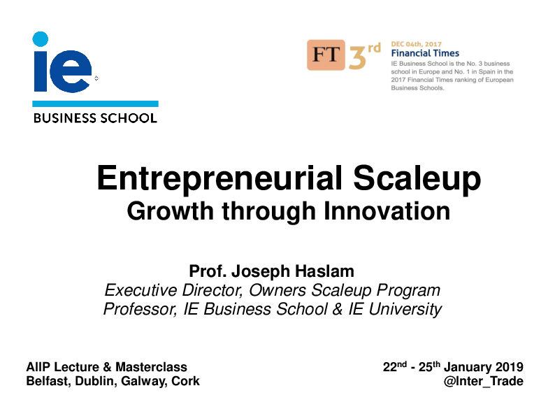 Entrepreneurial Scaleup Growth through Sustainability v2