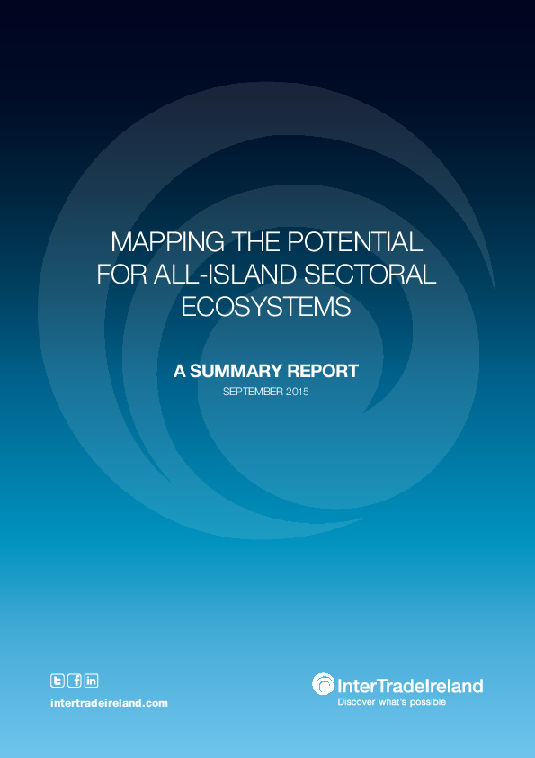 Mapping the Potential for All Island Sectoral Ecosystems