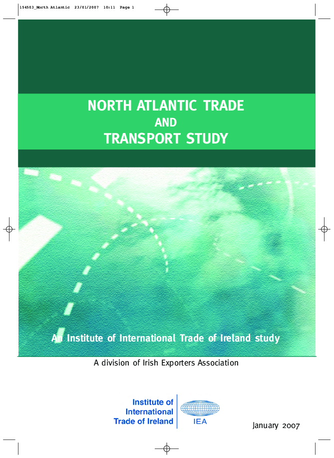 North Atlantic Trade and Transport Study