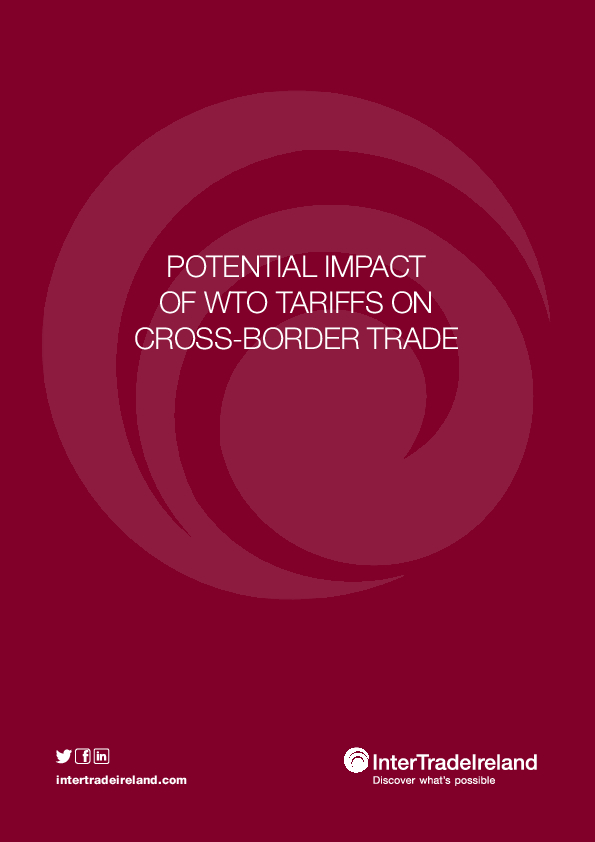 Potential Impact o f WTO Tariffs Research Report