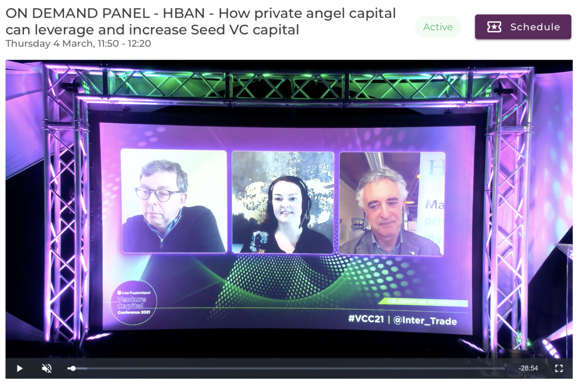 HBAN panel discussion at VCC 2021