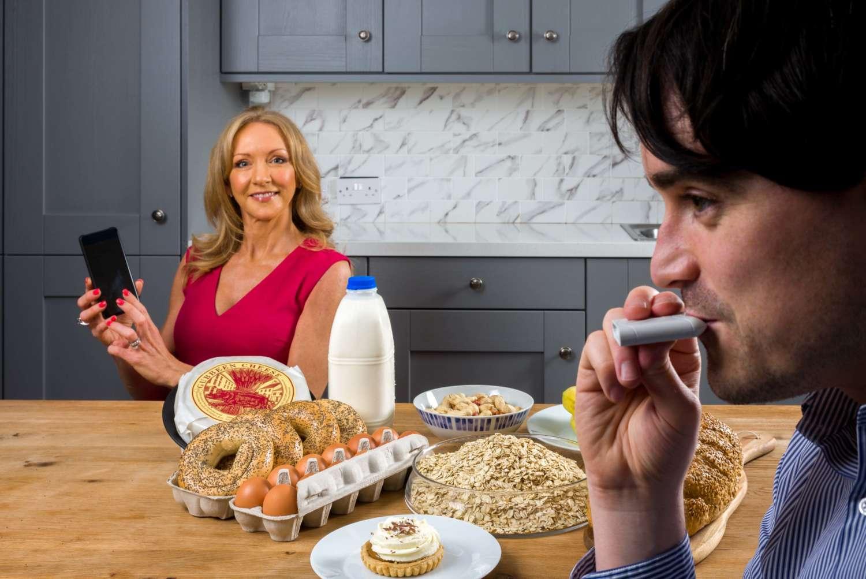 Niamh Sterling HBAN and Aonghus Shortt Foodmarble 1