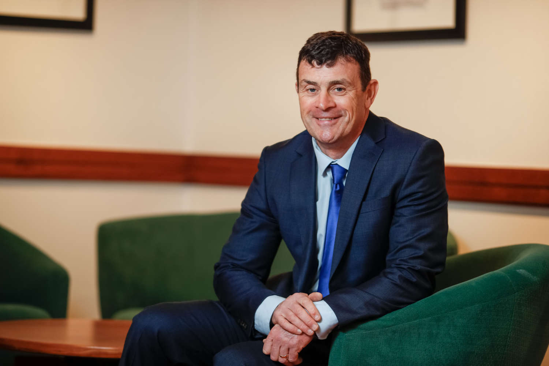 Aidan Gough Seated