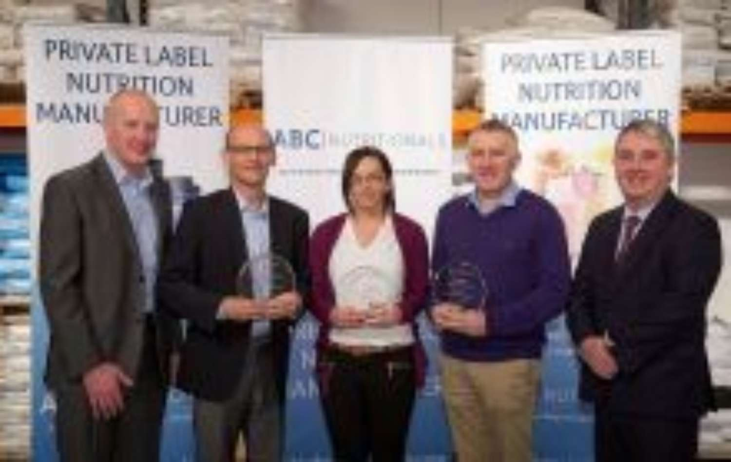 Inter Trade Ireland Award for Co Clare based ABC Nutrition Ltd