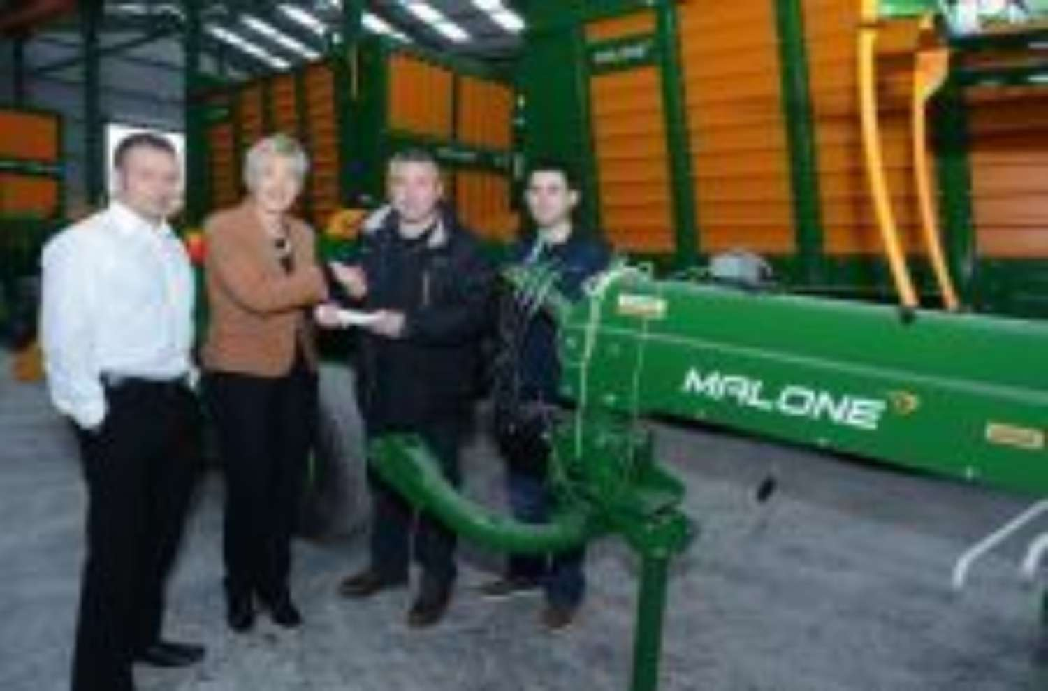 Inter Trade Ireland Award for Co Mayo based Malone Farm Machinery