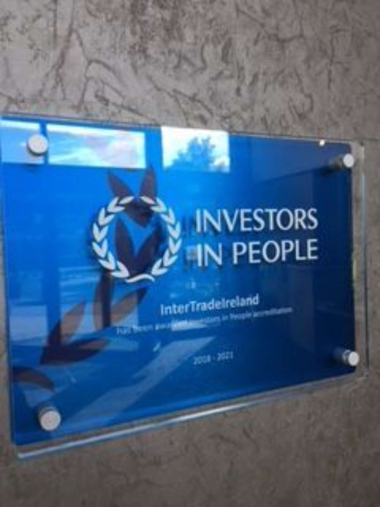Investors in people Plaque