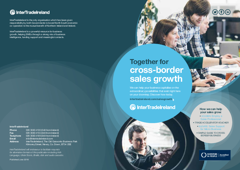 Together for cross-border sales growth brochure