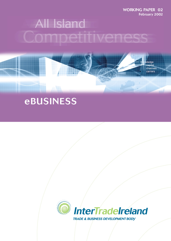 All Island Competitiveness E business Working Paper