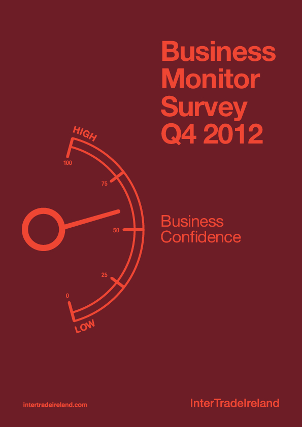 Business Monitor Survey 2012 Q4