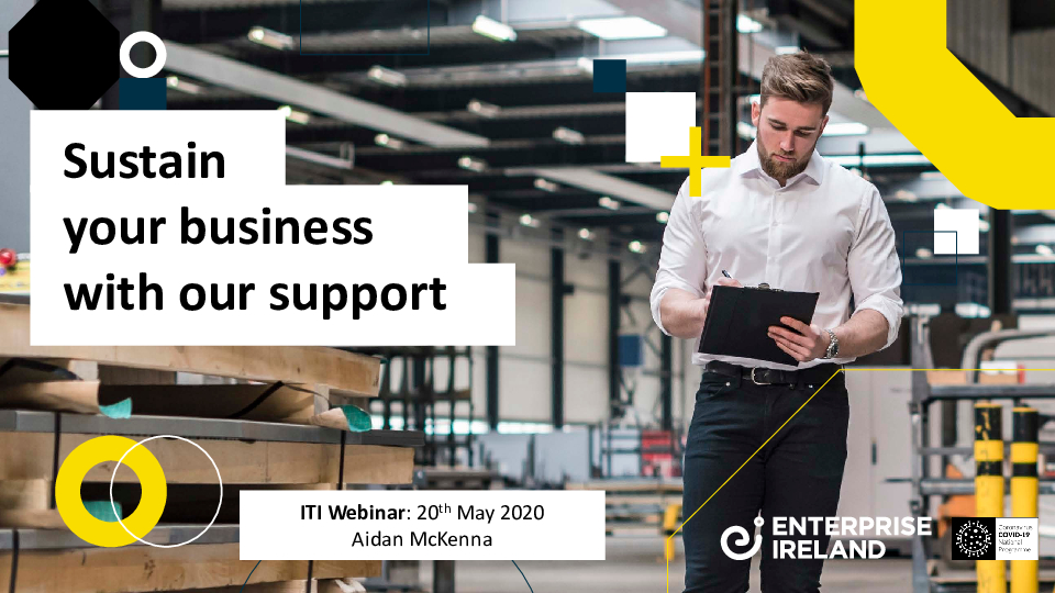 Covid-19 supports available | Enterprise Ireland