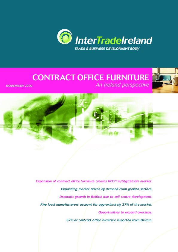 Contract Office Furniture An Ireland Perspective 2000