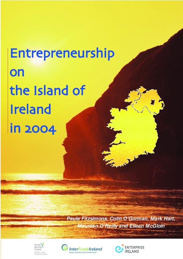 Entrepreneurship on the Island of Ireland 2004 Full