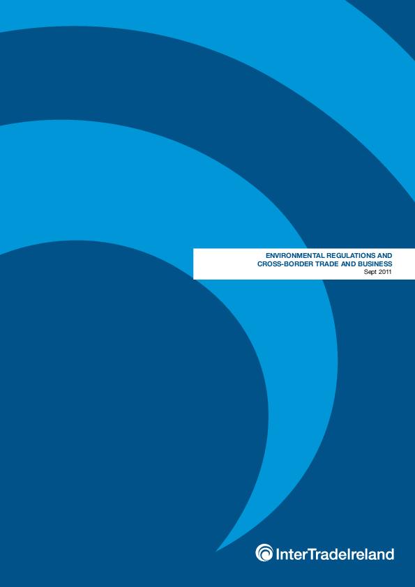 Environmental Regulationsand Cross Border Trade and Business Report September 2011