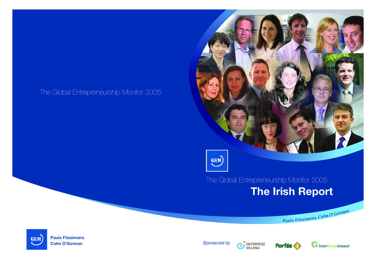 Gem Report Ireland 2005