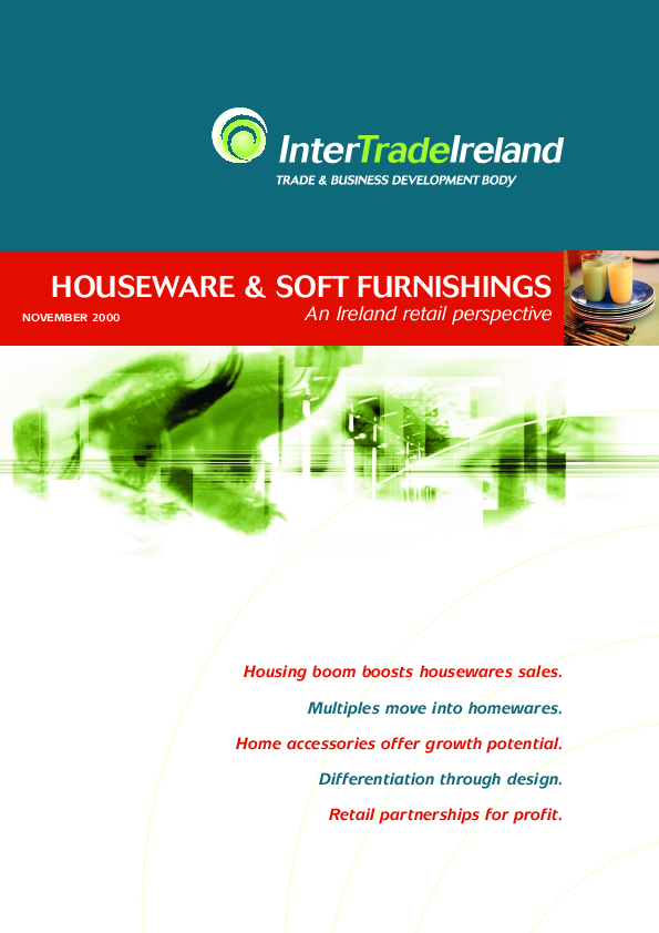Houseware and Soft Furnishings An Ireland Retail Perspective