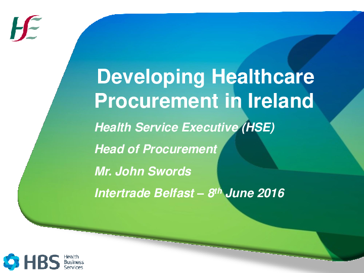 John Swords HSE Presentation