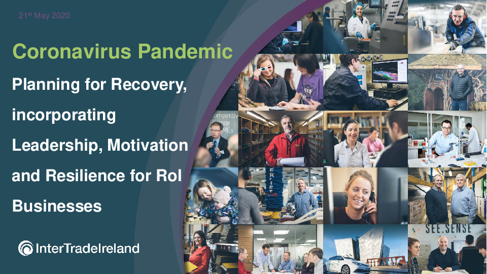 Planning for Recovery, incorporating Leadership, Motivation and Resilience for RoI Businesses | PKF-FPM Accountants