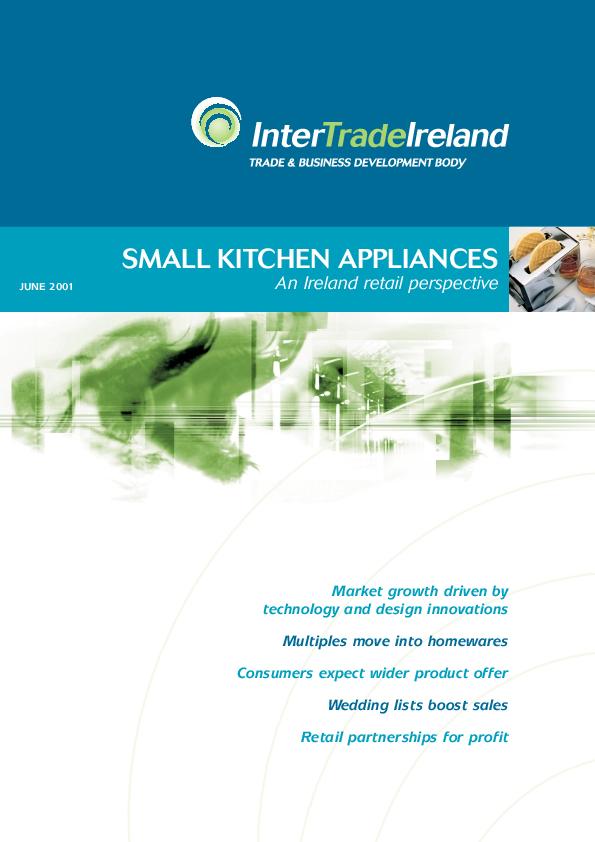 Small Kitchen Appliances An Ireland Retail Perspective